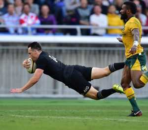 All Blacks thrash sorry Aussies 37-20 to complete Bledisloe sweep