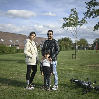 'We made it': Iraqi refugee family is home at last