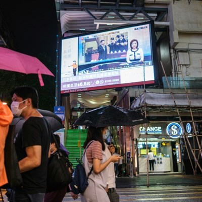 Outrage in Hong Kong as China pushes security law