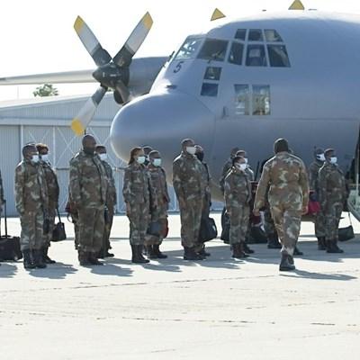 South Africa deploys military medics to virus hotspot