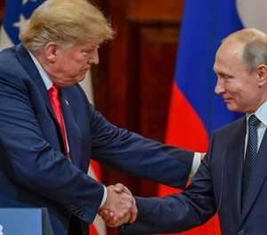 Trump's overtures to Putin stir opposition at home