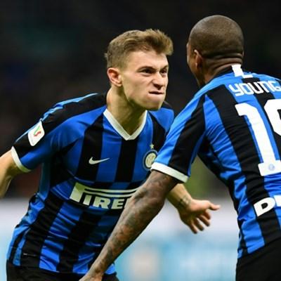 Eriksen enjoys winning debut as Inter reach Italian Cup semi-finals