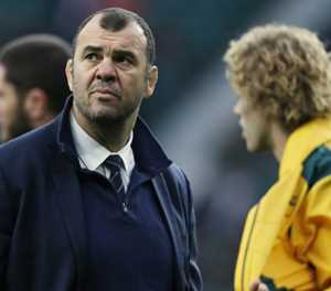 Rugby Australia to decide on Cheika's future as coach by Christmas