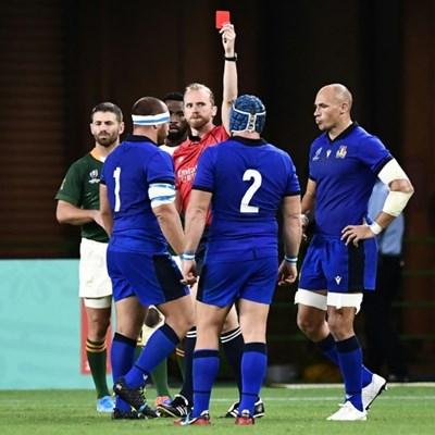 Italy pair banned for tip-tackle at Rugby World Cup