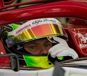 Sixth sense as Mick Schumacher hits track again in Bahrain test