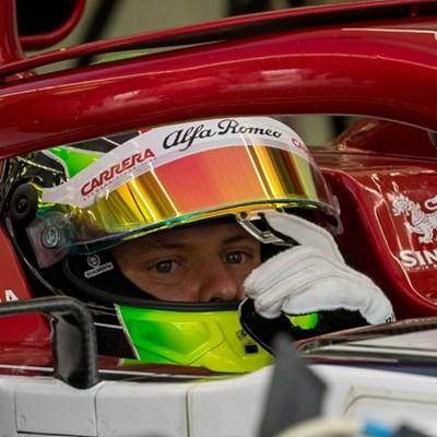 Sixth sense as Mick Schumacher hits track again in Bahrain test