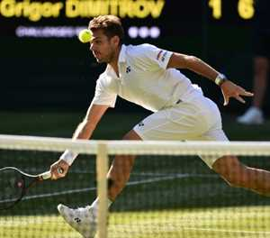 Stan and deliver! Wawrinka makes it a love double at Wimbledon