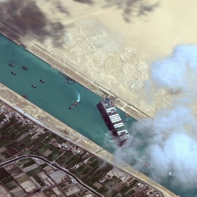 One virus, one stuck ship spark global trade rethink