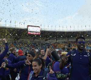 Olympic stars lead Americas to victory in Continental Cup athletics