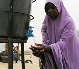 Virus fear stalks Nigeria displaced camps