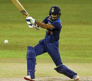 Sri Lanka bowlers limit India to 132-5 in Covid-hit T20