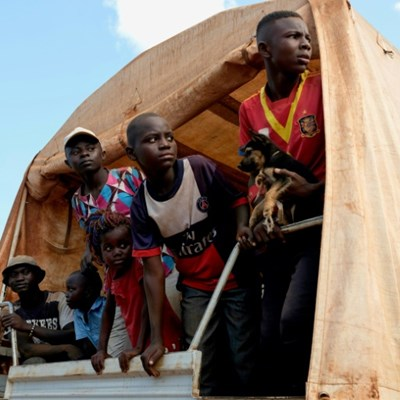 Exhausted Central Africans leave exile for unknowns at home