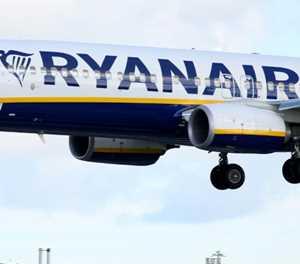 Ryanair planes take to skies despite European strikes