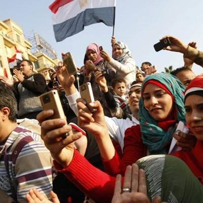 Arab Spring: the first smartphone revolution