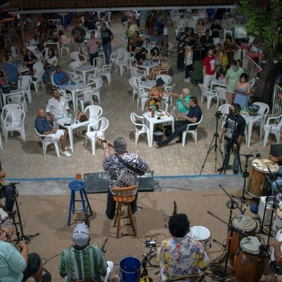 Socially distanced samba seeks to revive lost bliss in Brazil