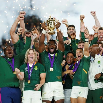 Springboks skipper Kolisi wins personality of the year award