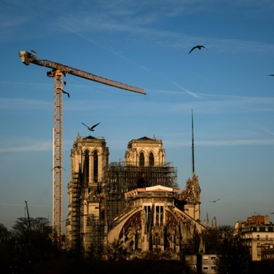 Lockdown stalls Notre-Dame's rebirth one year after fire