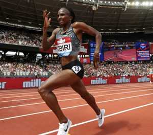 Kenya's Obiri to compete in both 5k and 10k in Doha
