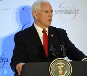 Pence demands EU allies leave Iran nuclear deal