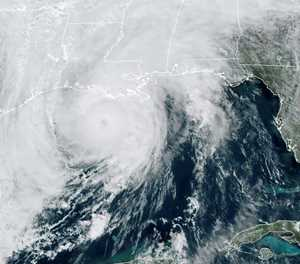 Hurricane Zeta slams into Louisiana coast