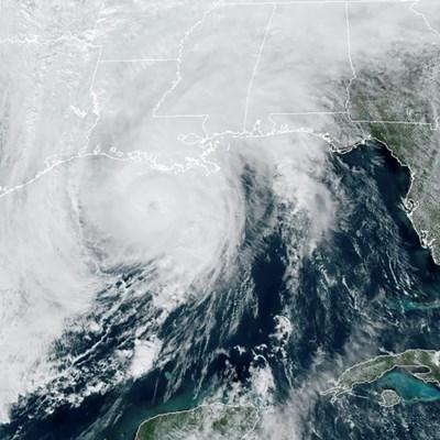 Hurricane Zeta slams into Louisiana coast