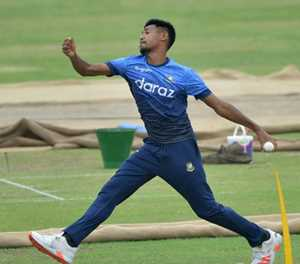 Bangladesh's Mustafizur doubtful for first Zimbabwe ODI