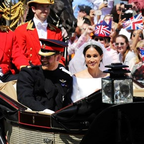 Five key moments from the royal wedding