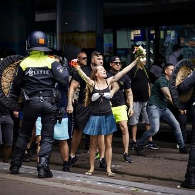 Dutch arrest hundreds at virus protest clashes