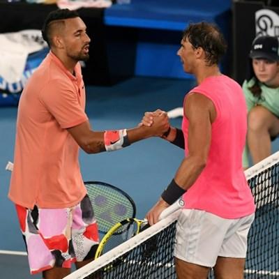 Kyrgios tells bitter rival Nadal: 'Let's do Insta'