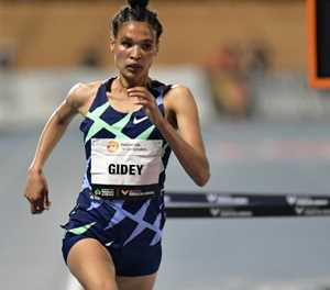Ethiopia's world record-breaking Gidey in running for athlete of year