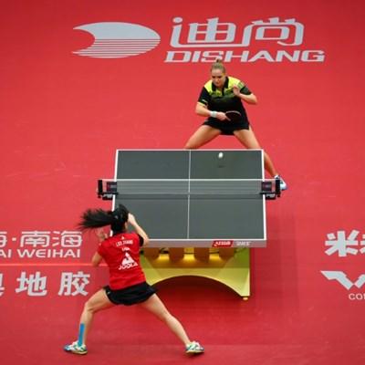 Nerves and serves: International table tennis back after 238 days