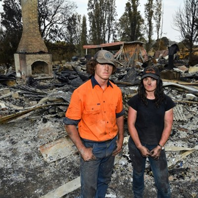 Fire-hit Australian farmers vow to rise from the ashes