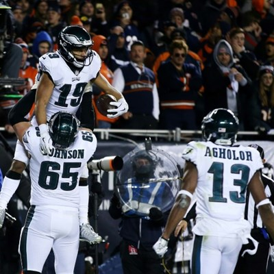 Eagles edge Bears, Chargers oust Ravens in NFL playoff thrillers