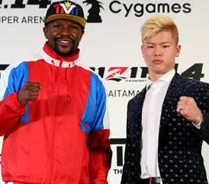 Mayweather and kickboxer will aim to 'knock out' in exhibition: promoter