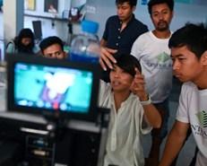 New Myanmar filmmakers shoot to rekindle golden years
