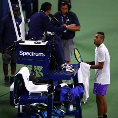 Kyrgios cruises to early morning US Open triumph