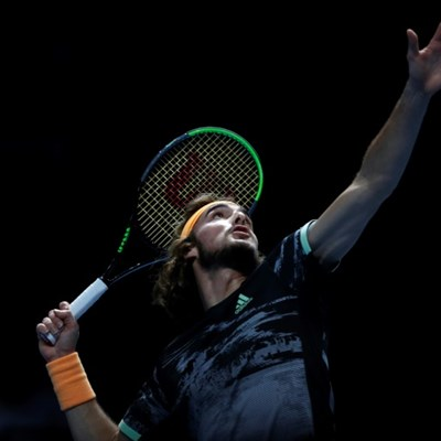Tsitsipas reaches ATP Finals semis after Nadal comeback