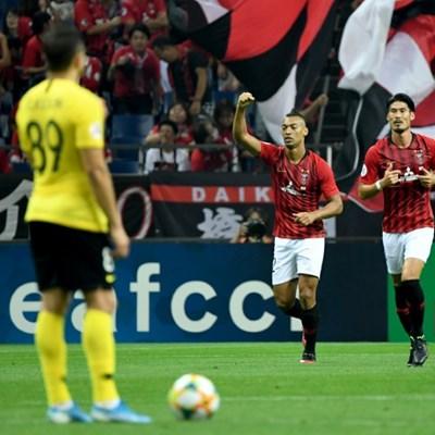 Urawa's twin rockets down Cannavaro's Guangzhou in AFC semi-final
