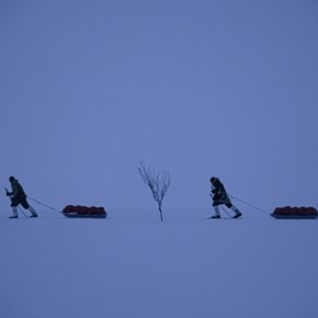 French adventurers train for Arctic exploit