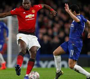 Sarri on the brink as Pogba fires United into FA Cup last eight
