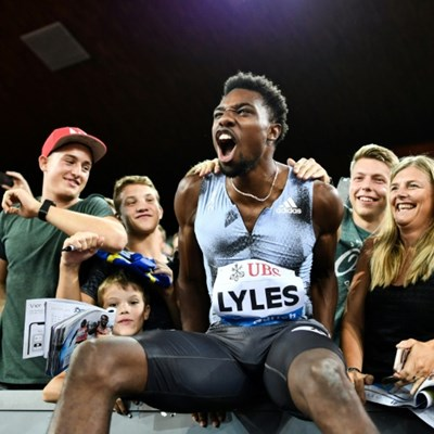 Lyles happy to see Coleman cleared over missed doping tests