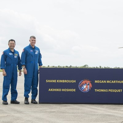 SpaceX set to take four astronauts to ISS Thursday