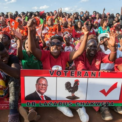Malawi votes in closely watched presidential re-run