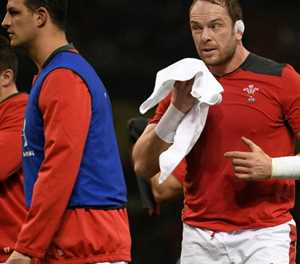 Wales captain Jones 'coming along nicely' ahead of Six Nations