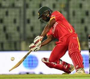 Chakabva hits 84 as Zimbabwe post 298 against Bangladesh