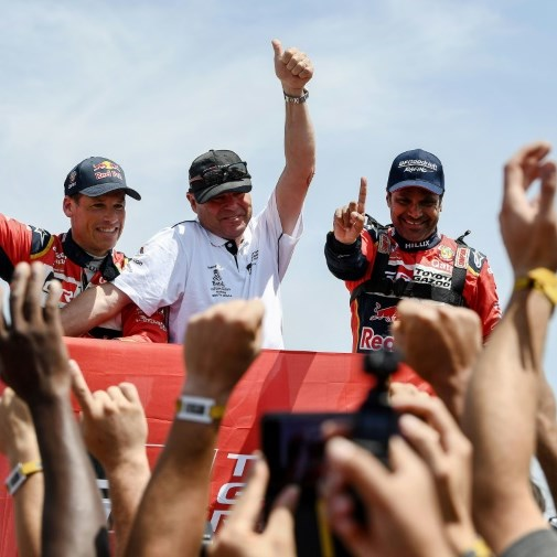 Qatar's al-Attiyah wins third Dakar Rally title