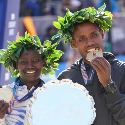 Ethiopia's Desisa, Kenya's Keitany win at NYC Marathon
