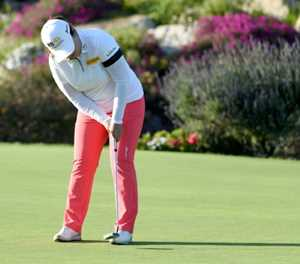 Park In-bee birdies 18 to seize LPGA Kia Classic lead
