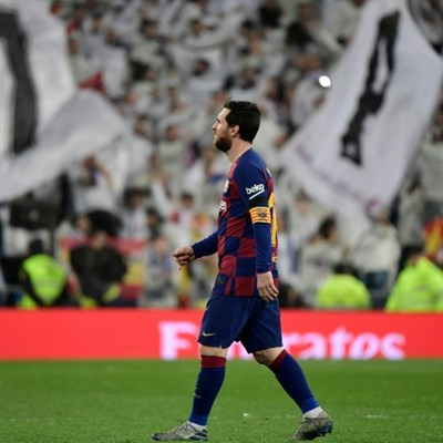 Messi happy again but Barca wonder if this Clasico will be his last