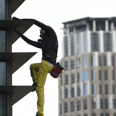 'French Spiderman' arrested after scaling Manila skyscraper